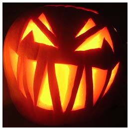 Halloween Jack-O-Lantern Stencils and Free Pumpkin Carving